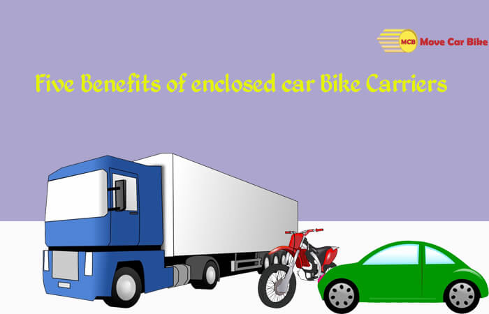 Five Benefits of enclosed Car Bike Carriers