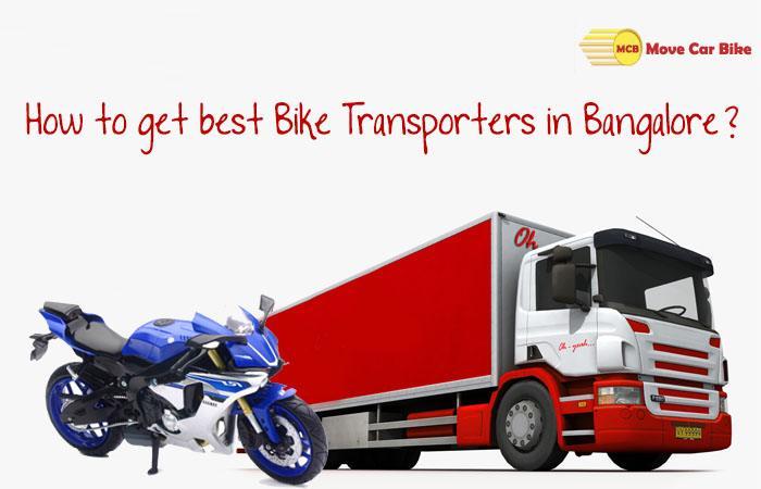Bike Transporters in Bangalore