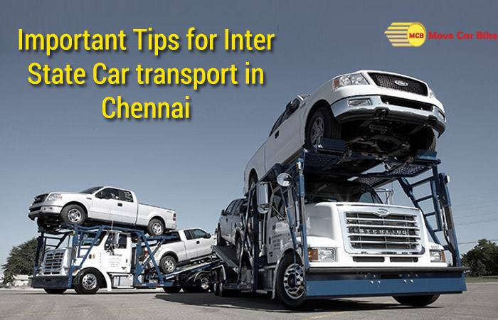 Car transport in Chennai
