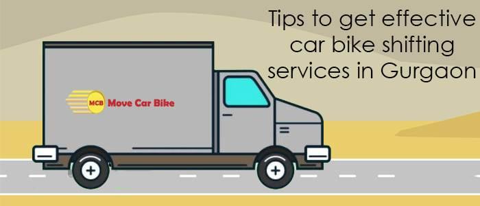 car bike shifting services in Gurgaon
