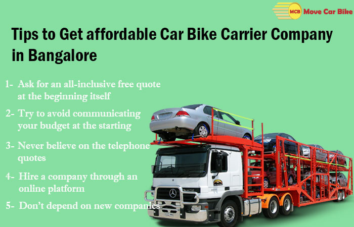 Tips to Get affordable Car Bike Carrier Company in Bangalore