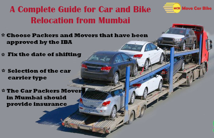 A complete guide for Car and Bike Relocation from Mumbai