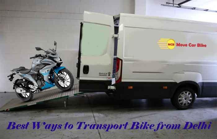Best Ways to Transport Bike from Delhi