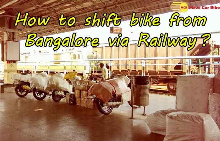How to shift Bike from Bangalore via Railway?