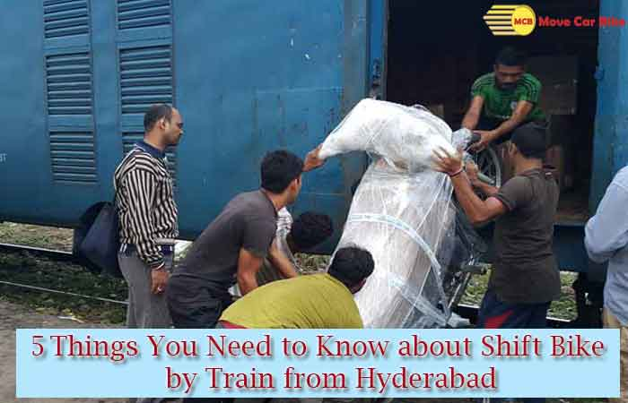 5 Things You Need to Know about Shift Bike by Train from Hyderabad