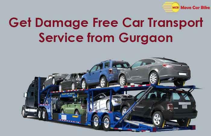 Get Damage Free Car Transport Service from Gurgaon